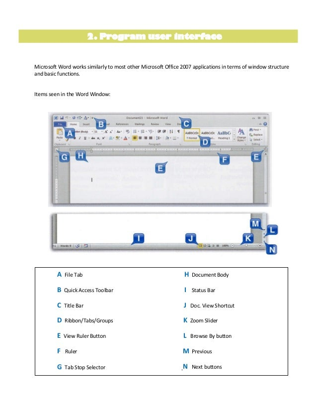 word template tutorial 2010