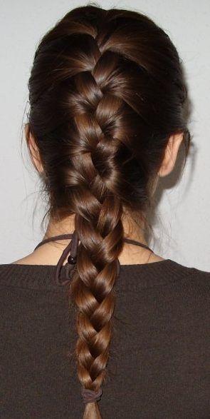 classic french braid tutorial
