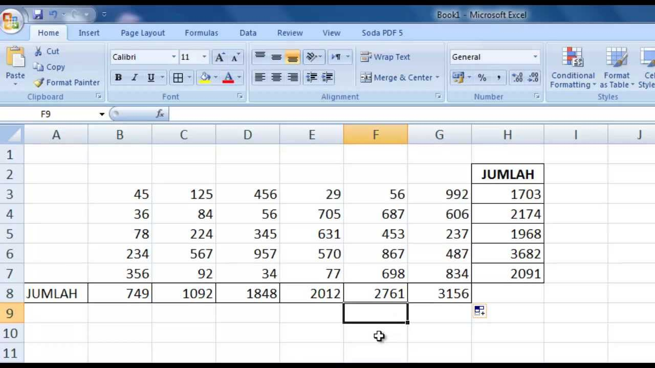 microsoft excel free tutorial 2013