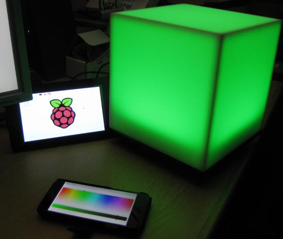 raspberry pi led cube tutorial
