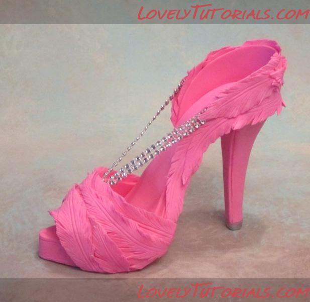 high heel shoe tutorial