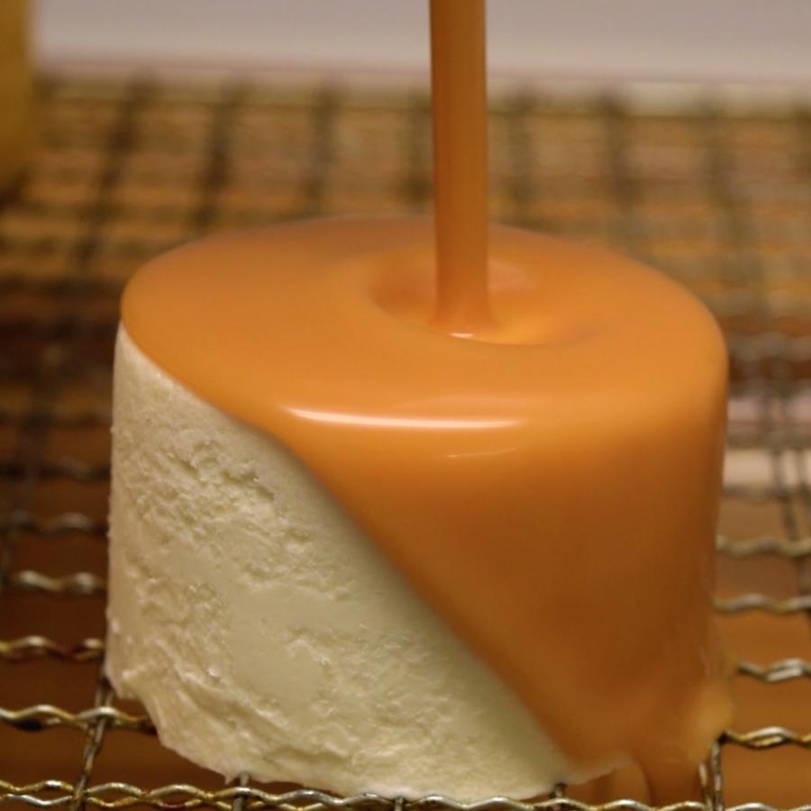 mirror glaze cake tutorial