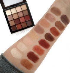bronzed mocha palette tutorial