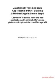 backbone js tutorial for beginners pdf