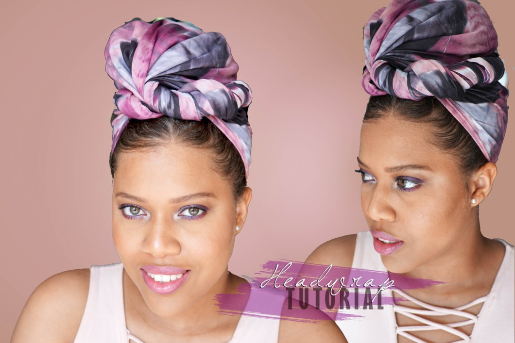 bandana head wrap tutorial