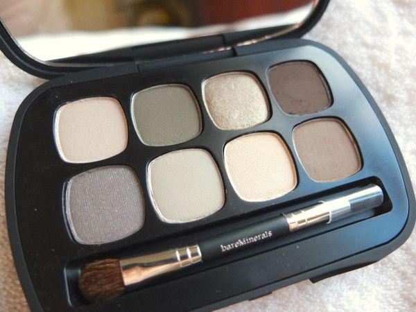 bareminerals ready eyeshadow 8.0 tutorial