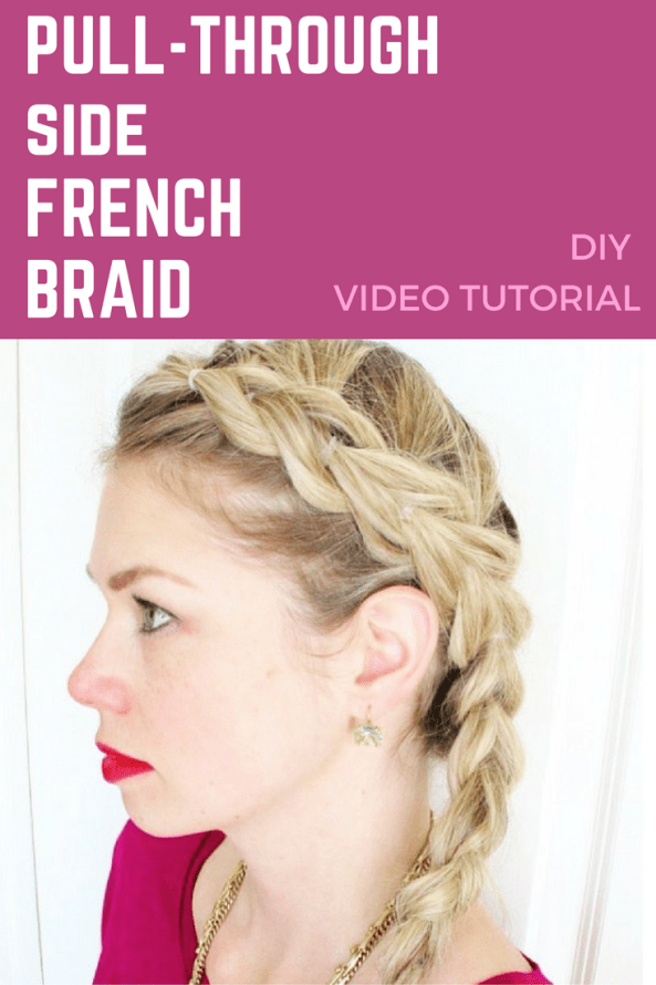 basic french braid tutorial