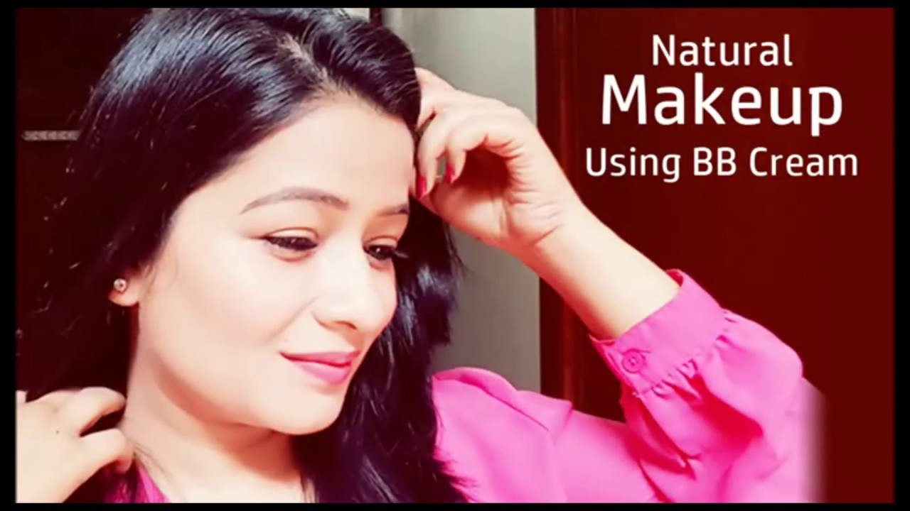bb cream makeup tutorial