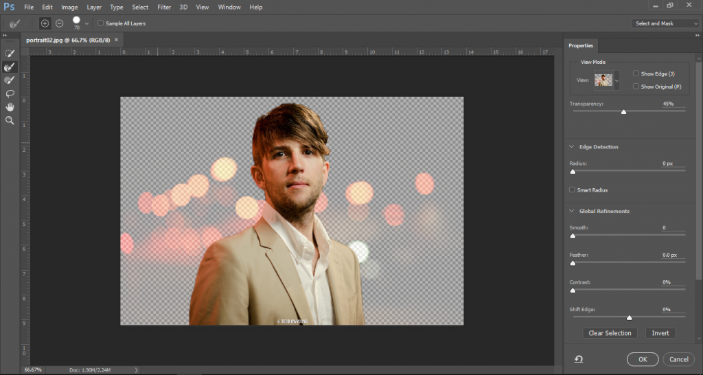 photoshop selection tools tutorial