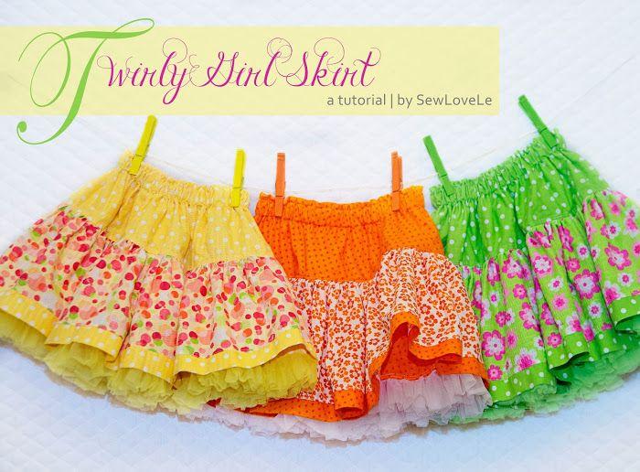 toddler tulle skirt tutorial