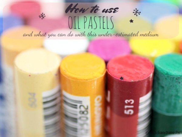 oil pastel tutorial step by step