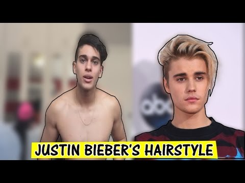 justin bieber haircut tutorial
