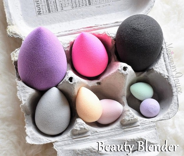 beauty blender sponge tutorial