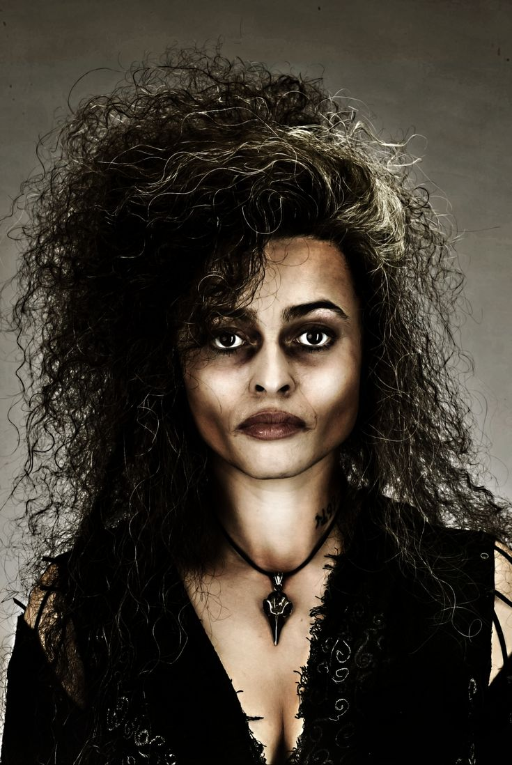bellatrix lestrange halloween makeup tutorial