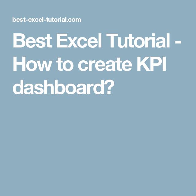 best ms excel tutorial