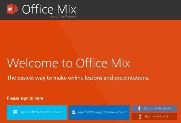 microsoft office mix tutorial