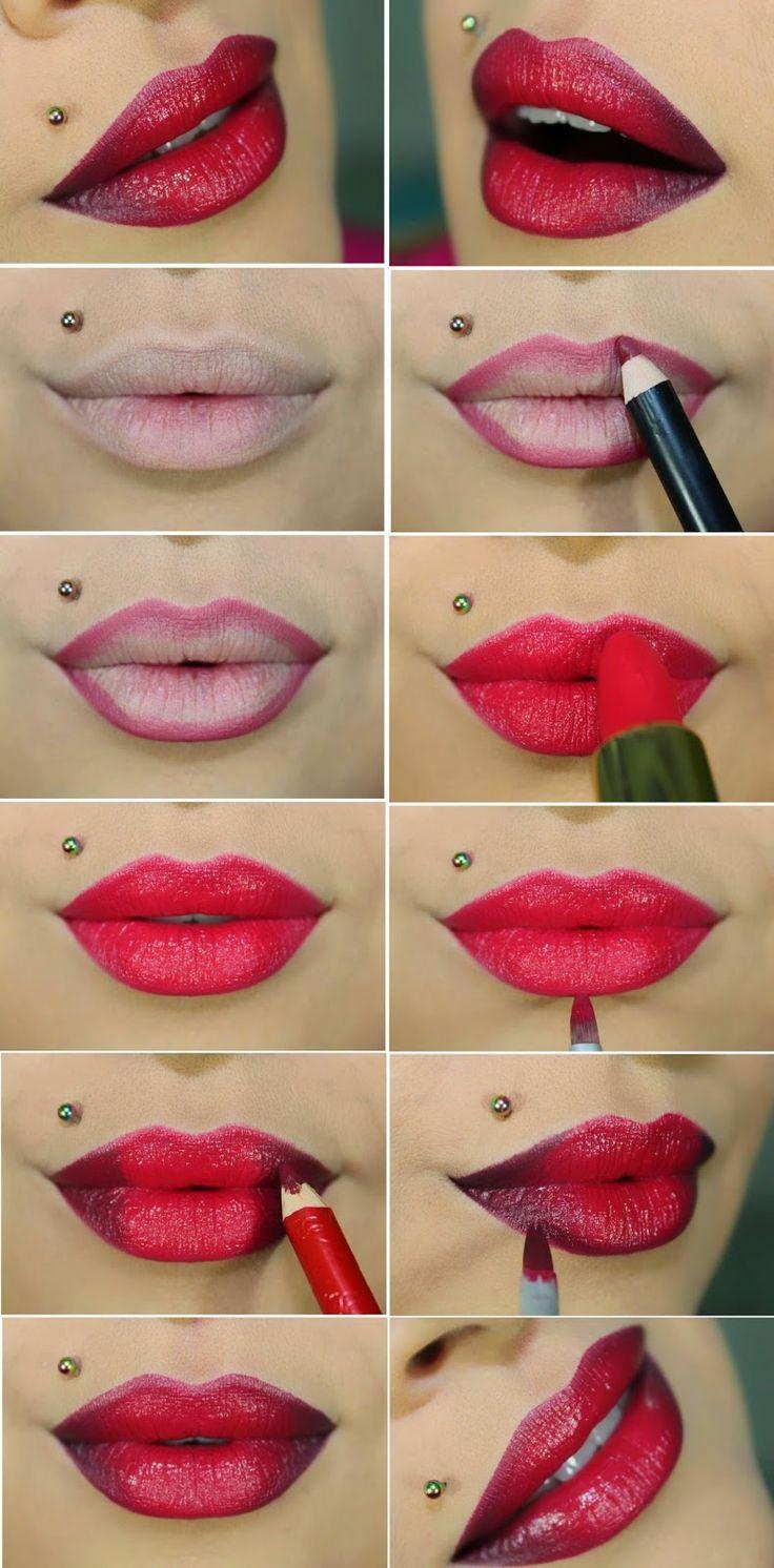big lips makeup tutorial