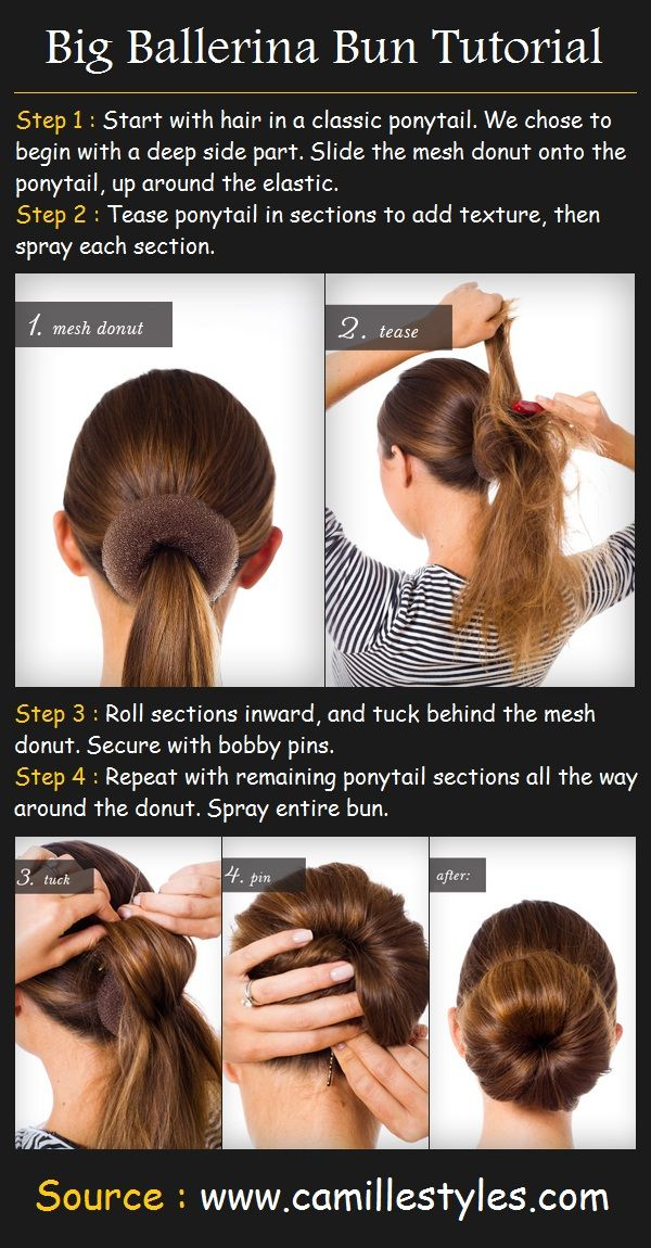 big messy bun tutorial