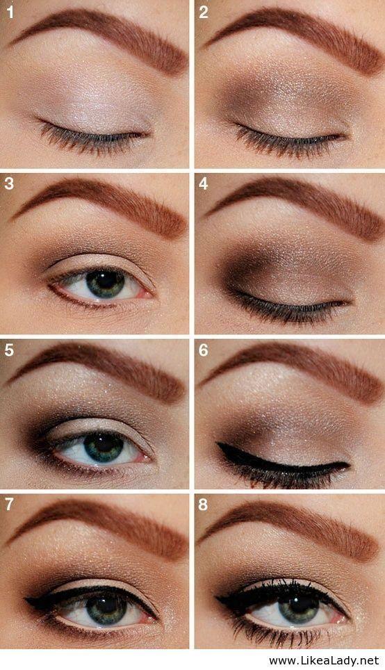 big smokey eye tutorial