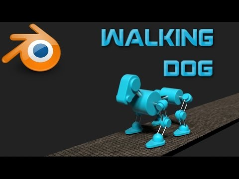 blender walking animation tutorial
