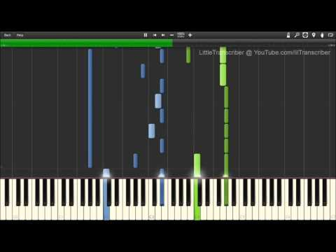 blue moon piano tutorial