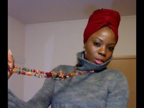 boho head wrap tutorial