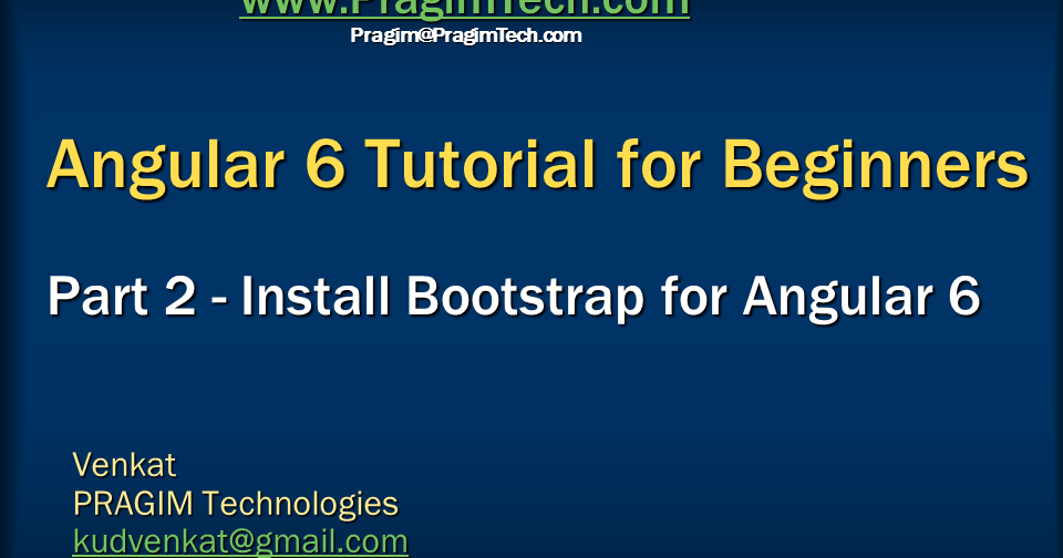 bootstrap 3 video tutorial