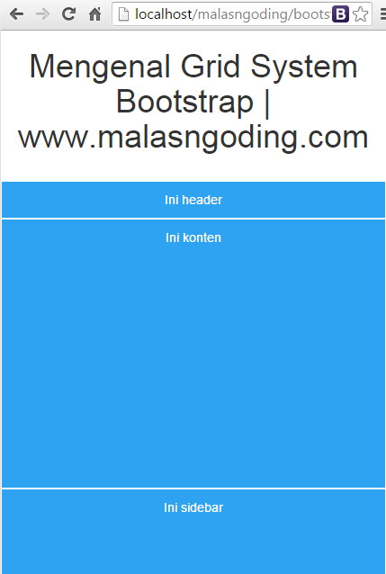 bootstrap grid system tutorial