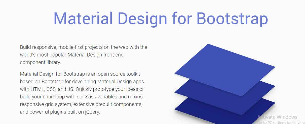 bootstrap material design tutorial