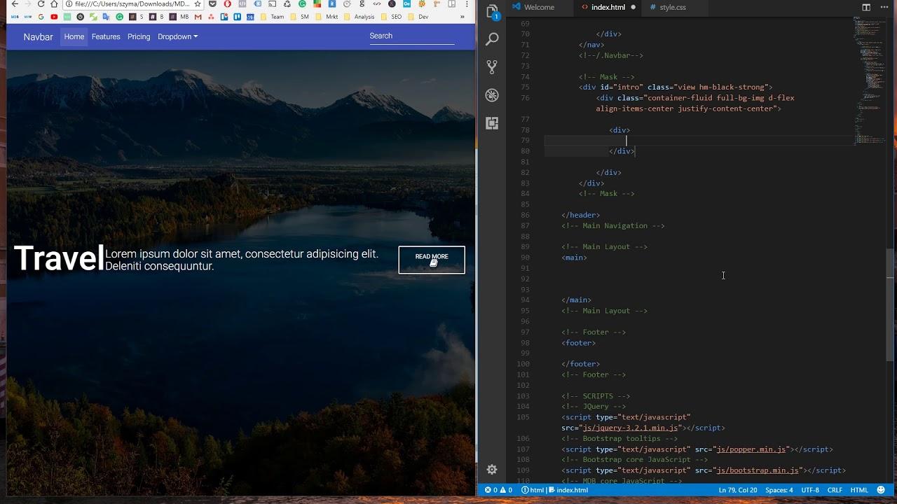 bootstrap material design tutorial