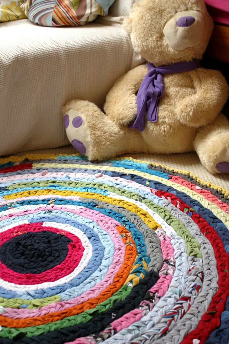 braided rag rug tutorial