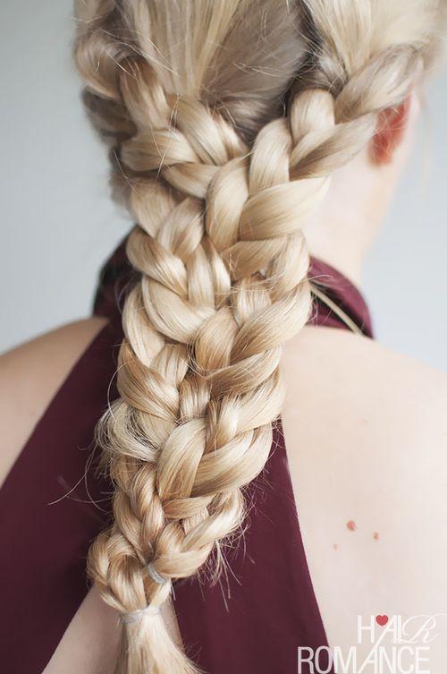 braids for long hair tutorial