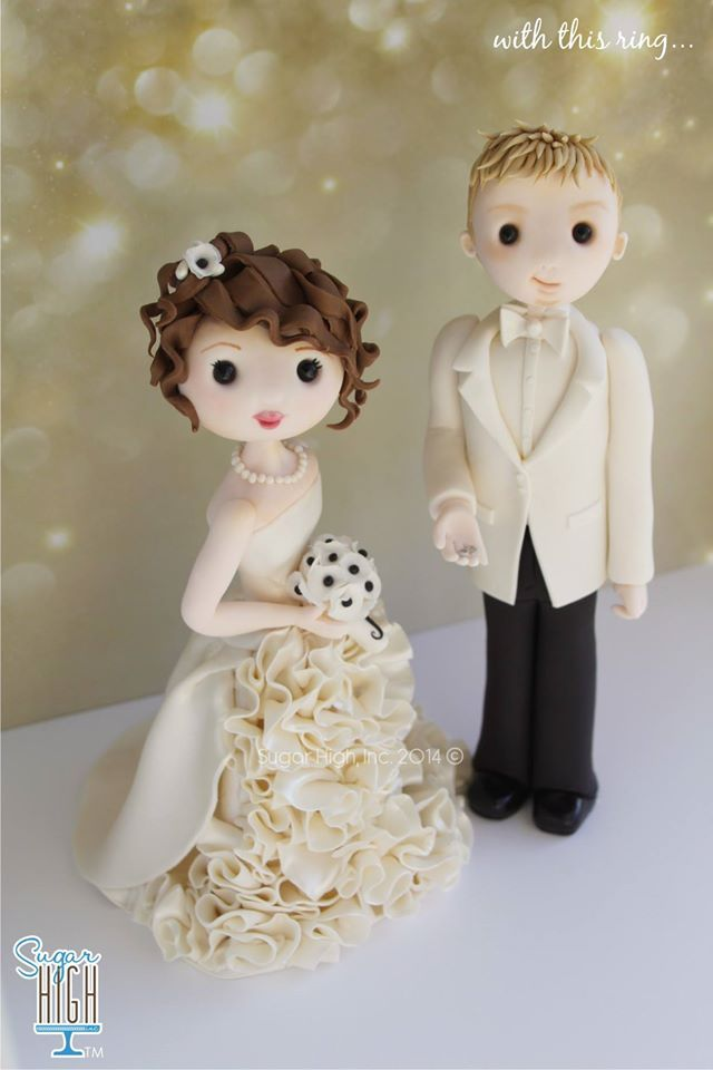 bride and groom cake pops tutorial