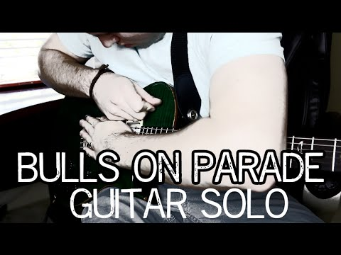 bulls on parade guitar tutorial