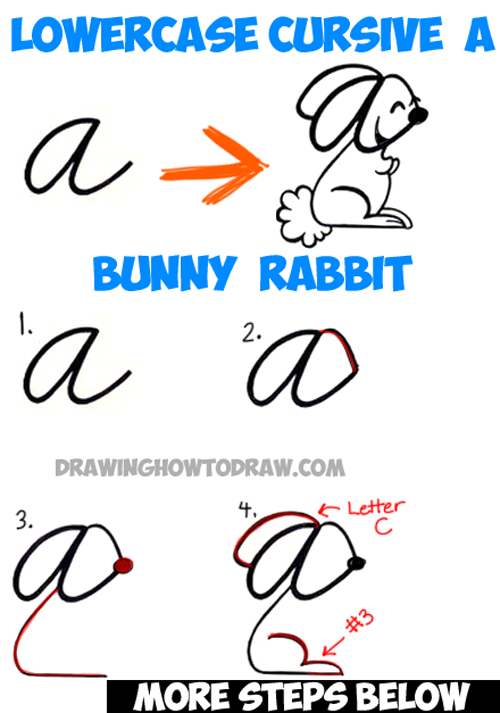 bunny rabbit drawing tutorial
