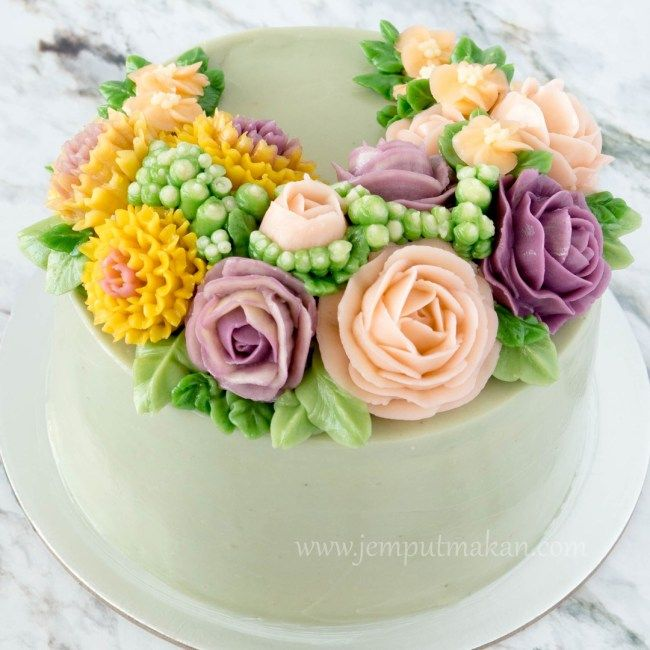 buttercream icing flowers tutorial