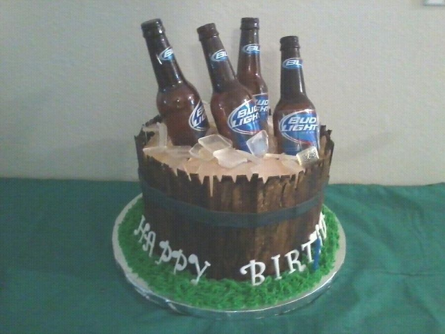 beer keg cake tutorial