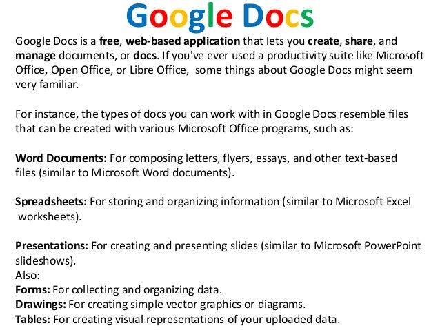 google docs powerpoint tutorial