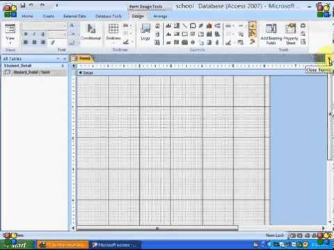 microsoft office access 2007 tutorial
