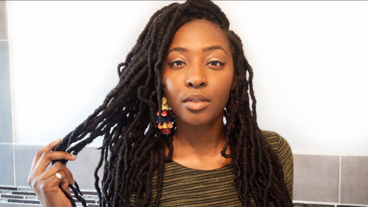 how to style locs tutorial