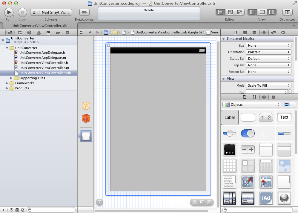 xcode iphone app tutorial