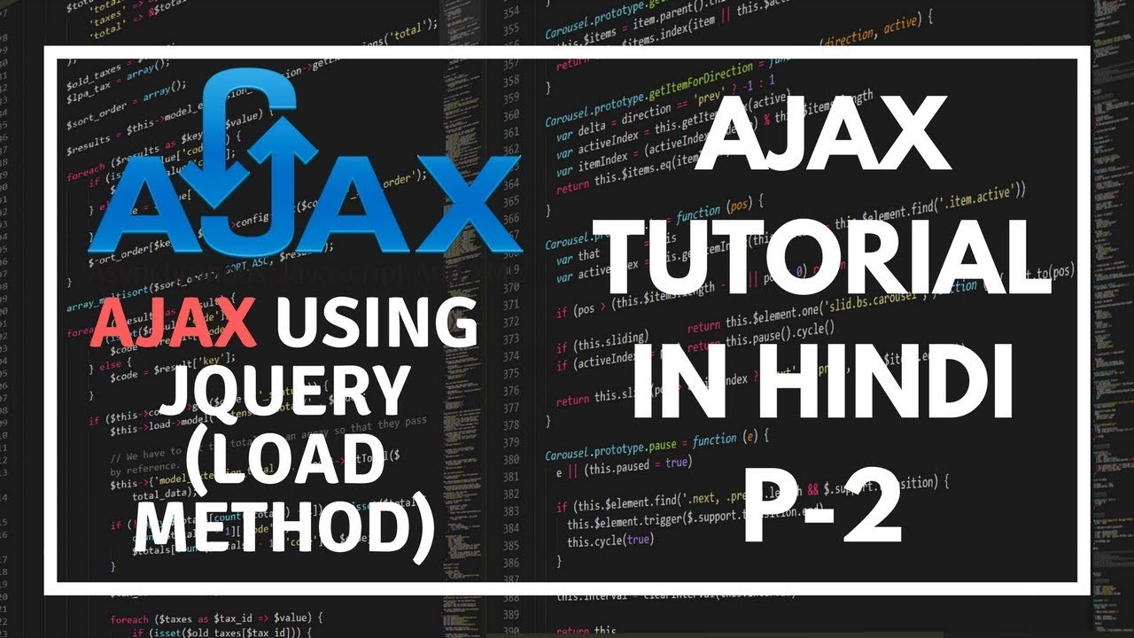 jquery ajax tutorial for beginners