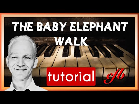 baby elephant walk piano tutorial