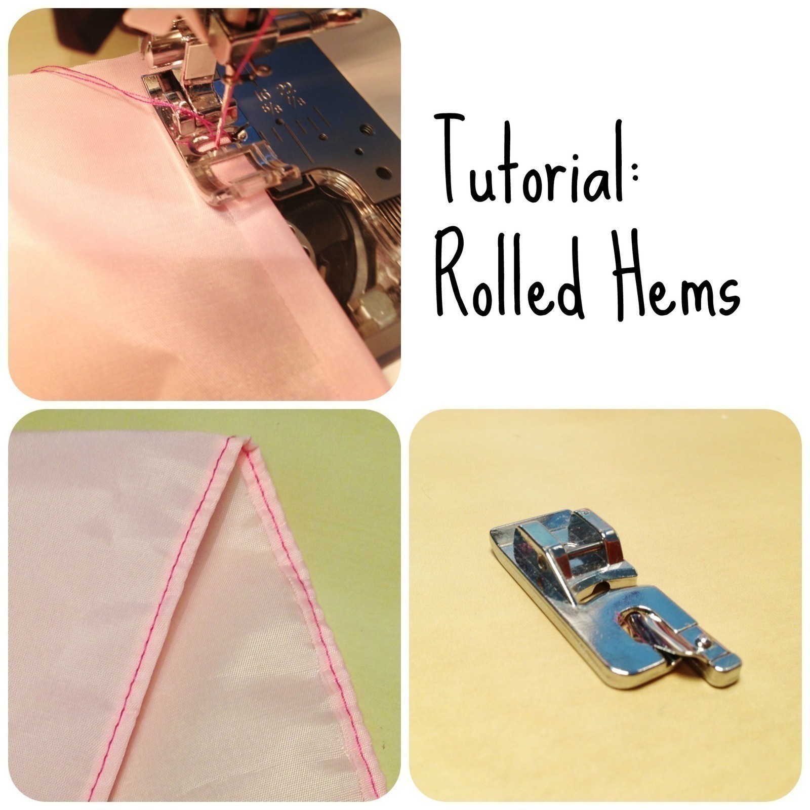 rolled hem foot tutorial