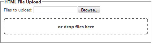 jquery drag and drop file upload tutorial
