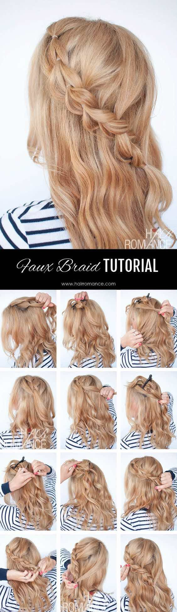 wedding hair bun tutorial