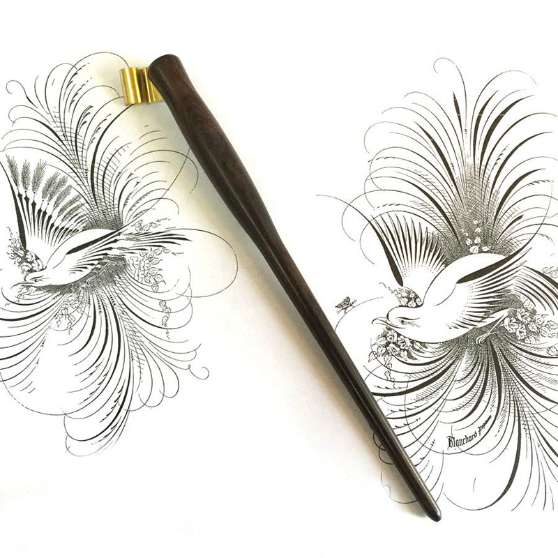 calligraphy dip pen tutorial