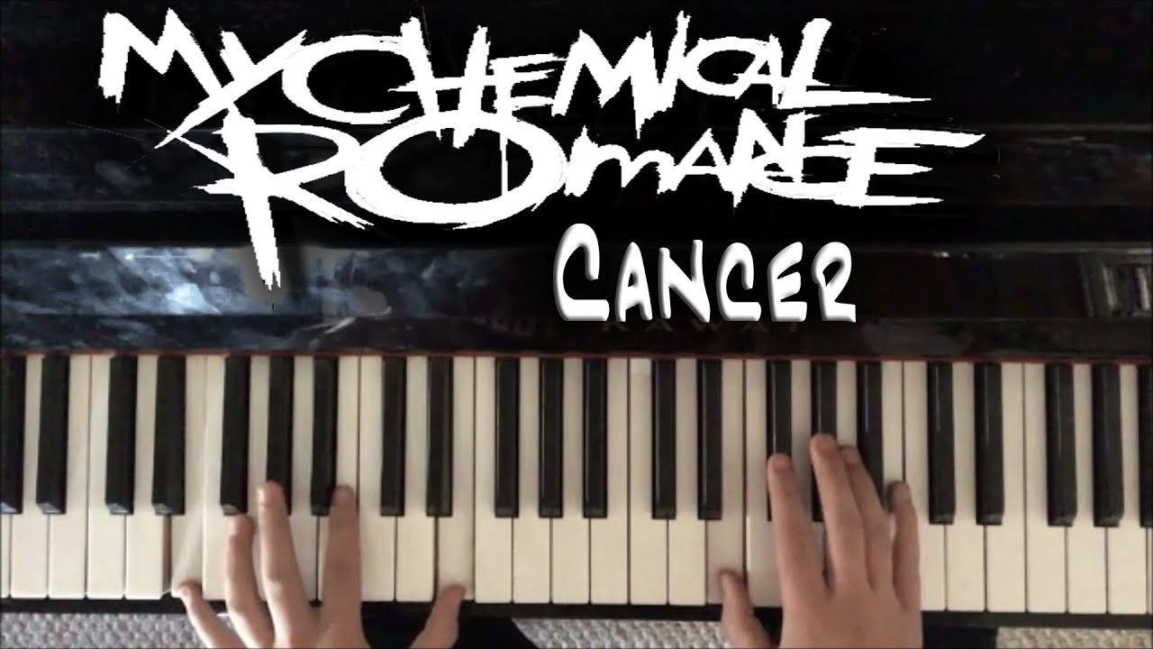 cancer my chemical romance piano tutorial