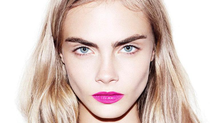cara delevingne eyebrows tutorial