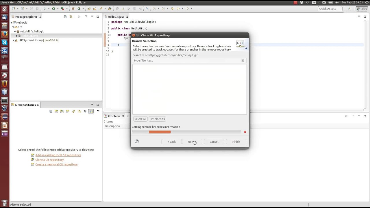 github and eclipse tutorial